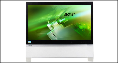 Acer Aspire Z5761 display