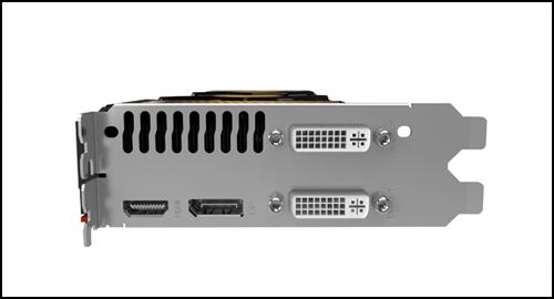 Palit GeForce GTX 580 ports