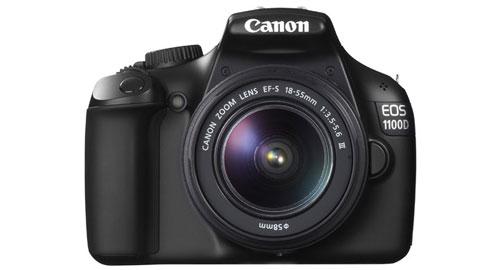 Canon EOS 1100D front