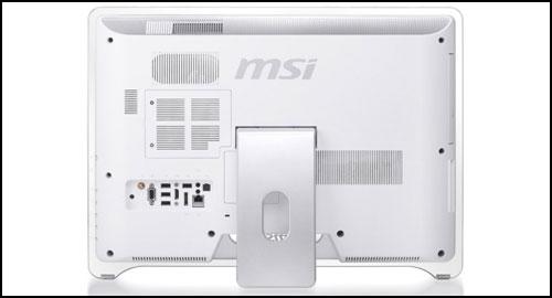 MSI Wind Top AE2240 back