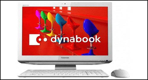 Toshiba dynabook Qosmio D711 white