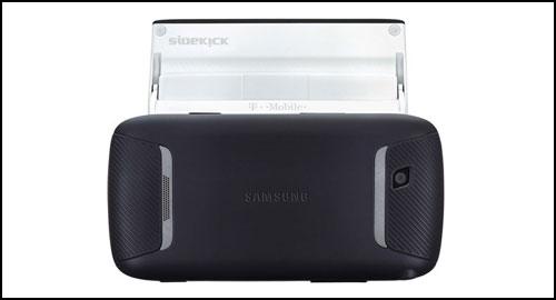 Samsung Sidekick 4G back