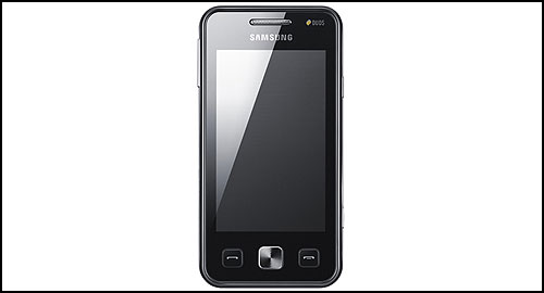 Samsung Star II Duos front