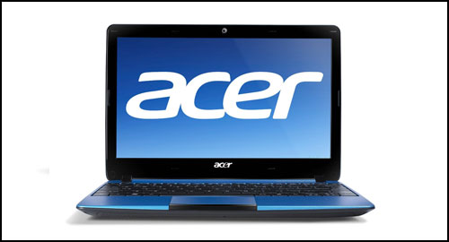 Acer Aspire One 722 Aquamarine