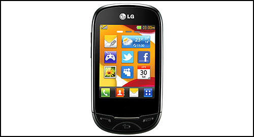 LG T500 front