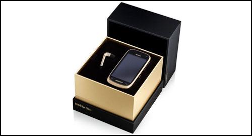 Nokia Oro black gold box