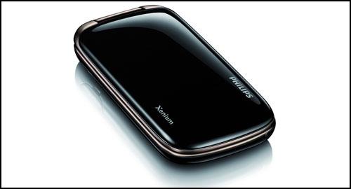 Philips Xenium X519 closed