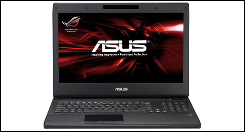 ASUS ROG G74Sx front