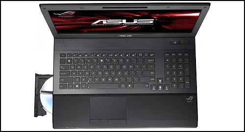 ASUS ROG G74Sx keyboard