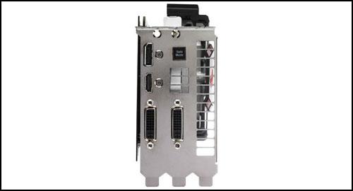 ASUS ROG Matrix GTX 580 ports