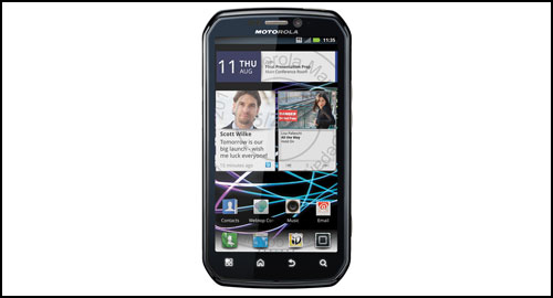 Motorola Photon 4G front