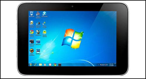 Lenovo IdeaPad Tablet P1 front