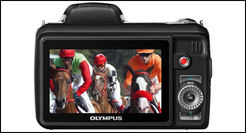 Olympus SP-810UZ black back