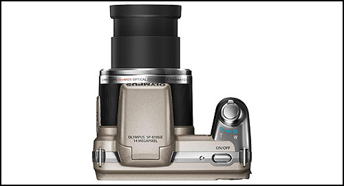 Olympus SP-810UZ brown top