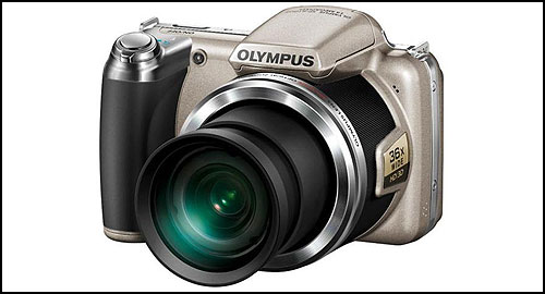 Olympus SP-810UZ brown