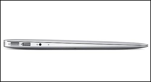 13,3 Apple MacBook Air 2011 left ports