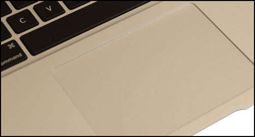 13,3 Apple MacBook Air 2011 touchpad