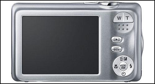 Fujifilm FinePix JX370 silver back
