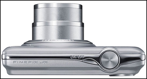 Fujifilm FinePix JX370 silver top