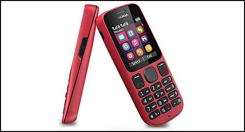 Nokia 100 red