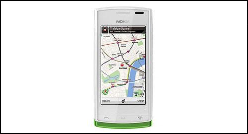 Nokia 500 white front