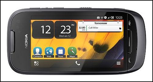 Nokia 701 black