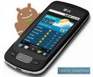 Обновления Android 2.3 для LG Optimus 3D