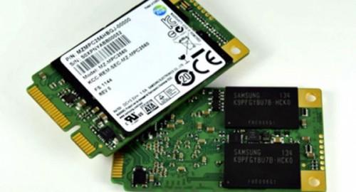 Накопители SSD ,формата mSATA