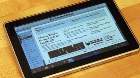 Следующий планшет от Hewlett-Packard будет ориентирован на бизнесменов
