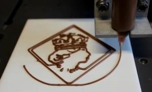 Шоколадный принтер готов к выпуску