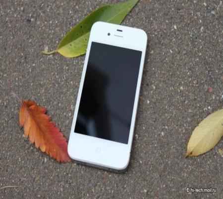 Последнее яблочко  Джобса  iPhone 4S