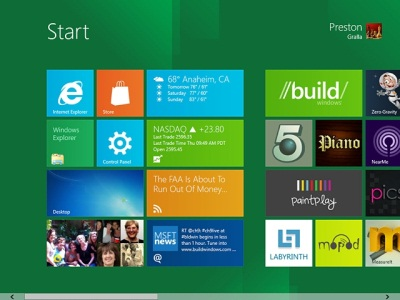 В Windows 8 появятся графические усовершенствования