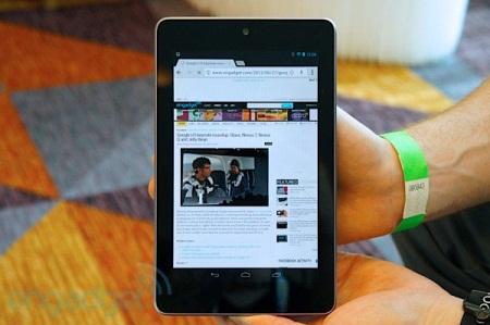 Nexus 7 набирает популярность