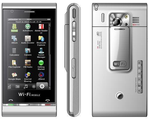 LG: новый гламурный аппарат K300