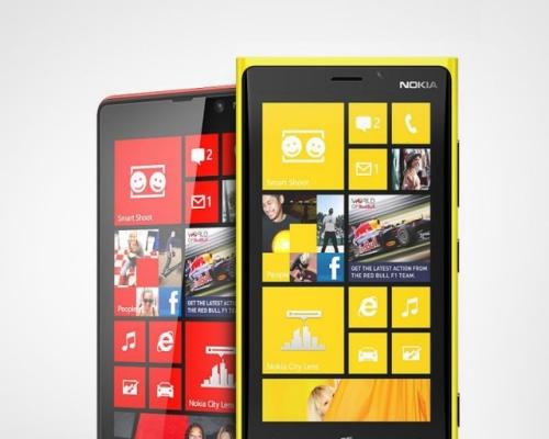Nokia объявила цены на смартфоны Lumia 920 и 820