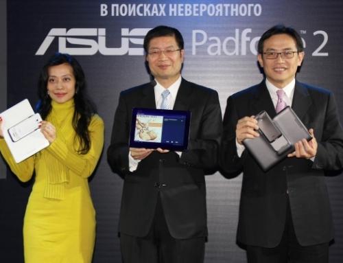 ASUS представила Padfon 2 в России