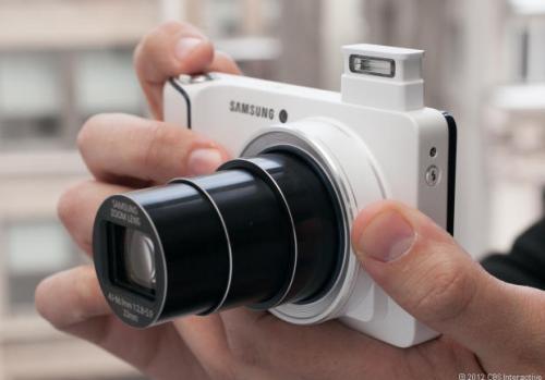 Продвижение новой камеры от Samsung
