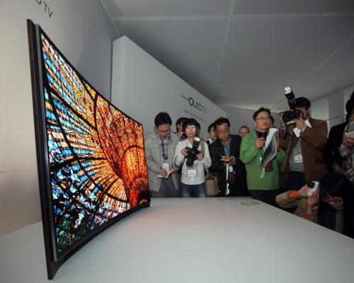 Samsung представила новый телевизор