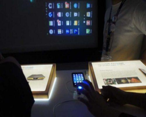 Samsung Galaxy Beam 2 с проектором