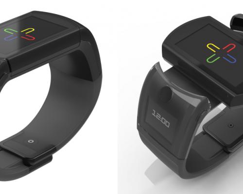 UB: смарт-часы с поворачивающимся экраном