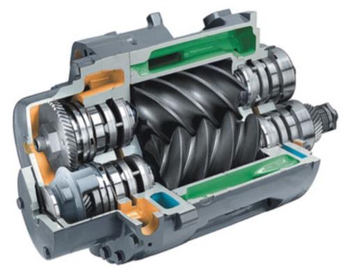 Винтовой компрессор: преимущества и разновидности