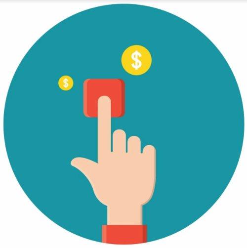 доллар кнопка